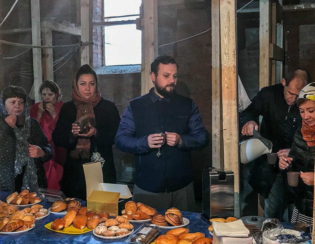 Водосвятный молебен в Сивково