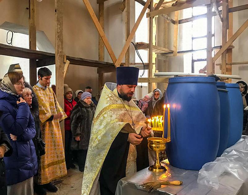 Крещение Покровский Храм 2019